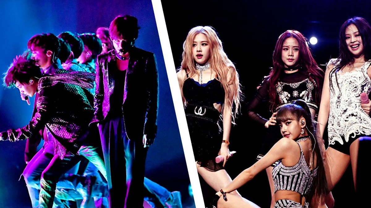 BTS and Blackpink - The Faces of a New Generation Music Wave